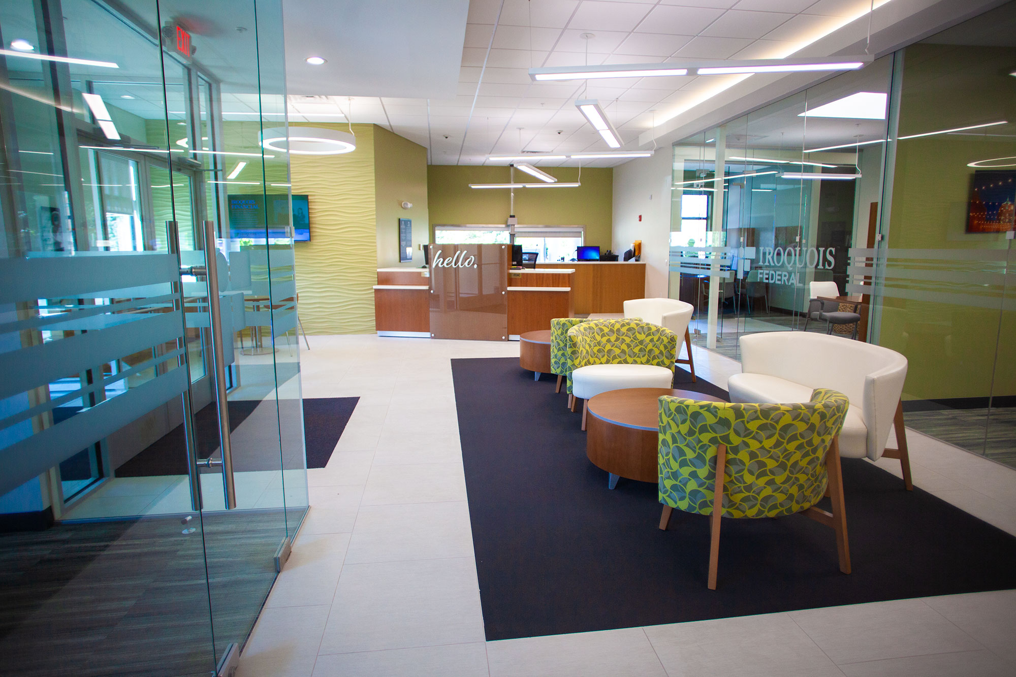 Iroquois Federal Bank Interior 2