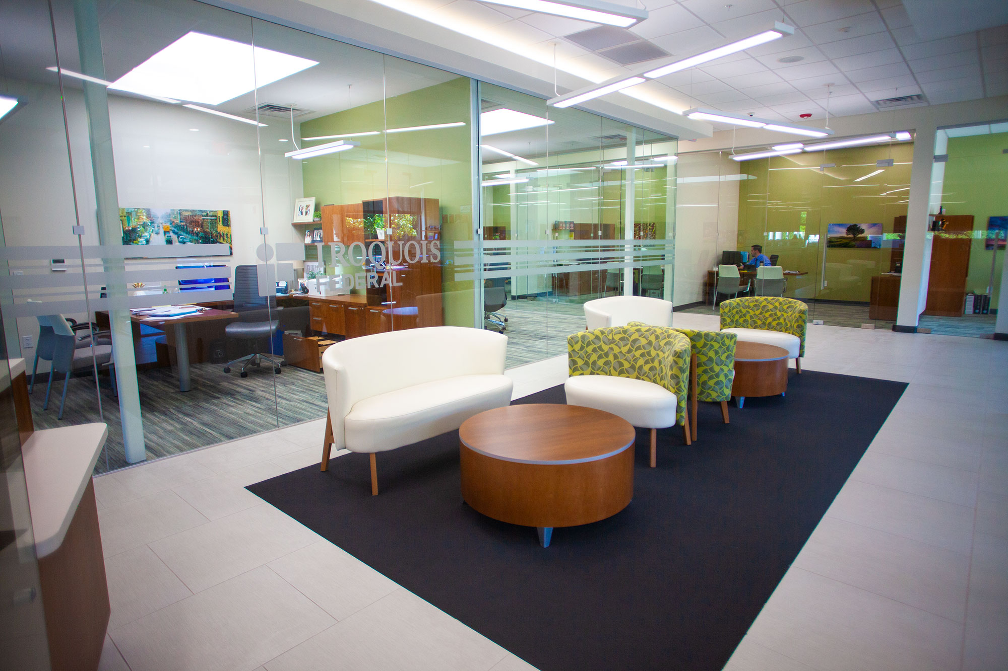 Iroquois Federal Bank Interior
